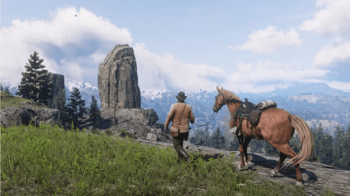 Red Dead Redemption 2 screenshot by Rockstar Games