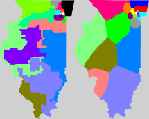 Illinois State Congressional District Map