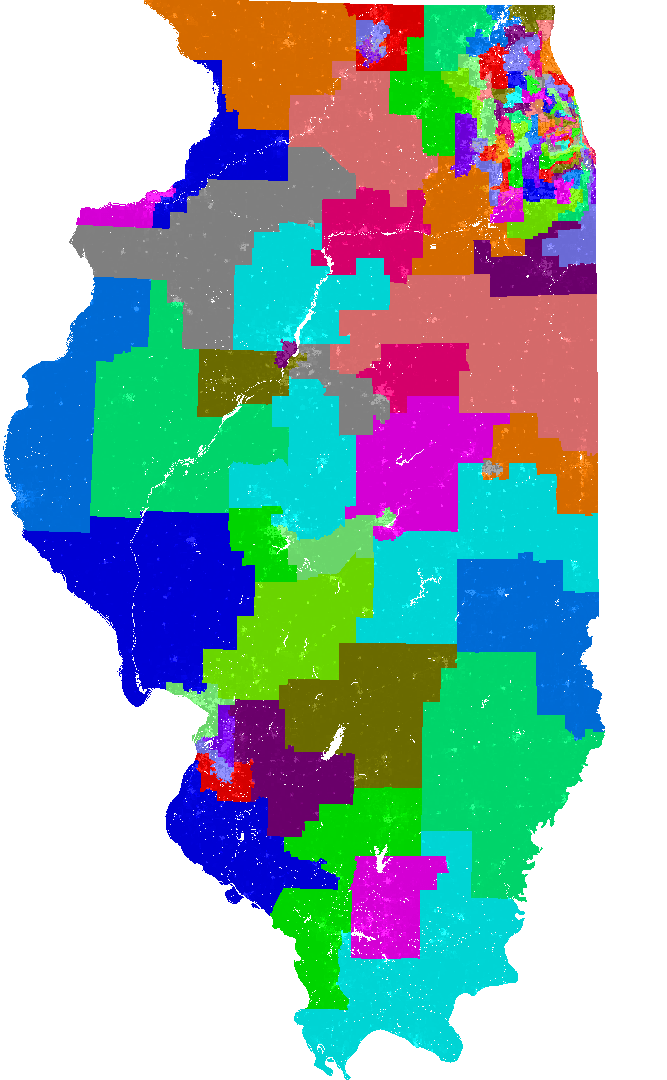 Illinois House of Representatives Redistricting