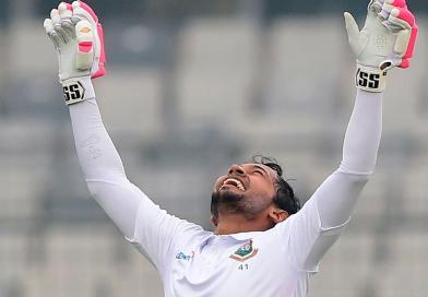 Mushfiq dedicates Test double ton to son