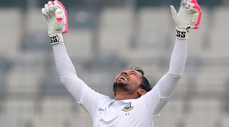 Mushfiq dedicates Test double ton to son