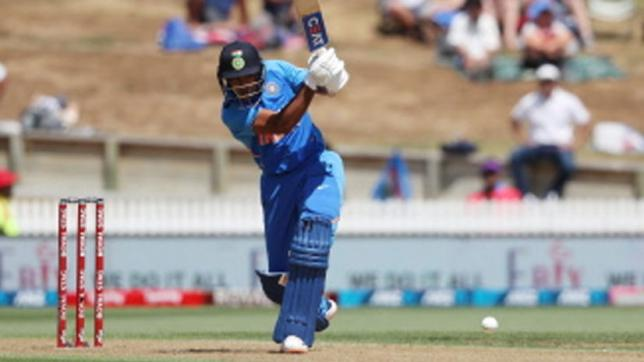 India's Mayank Agarwal bats during the first One Day International cricket match between New Zealand and India at Seddon Park in Hamilton on 5 February 2020. Photo: AFP
