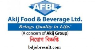 Akij Food & Beverage Ltd Job Circular