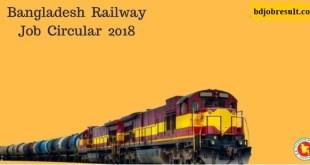Railway Job Circular BD