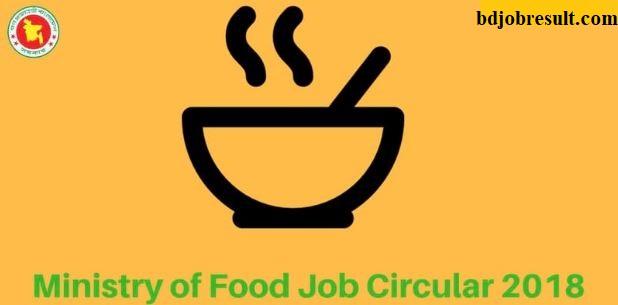 Food Job Circular