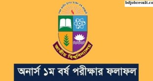 Honours 1st Year Exam Result