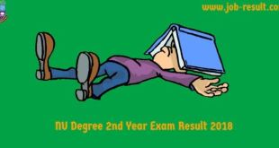Degree 2nd Year Exam Routine