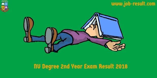 Degree 2nd Year Exam Routine