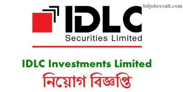 IDLC Securities Limited Job Circular