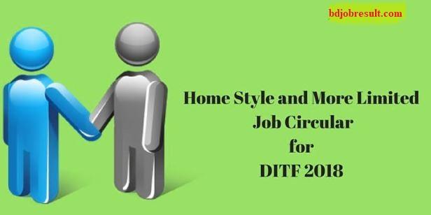 Home Style Limited Job Circular DITF