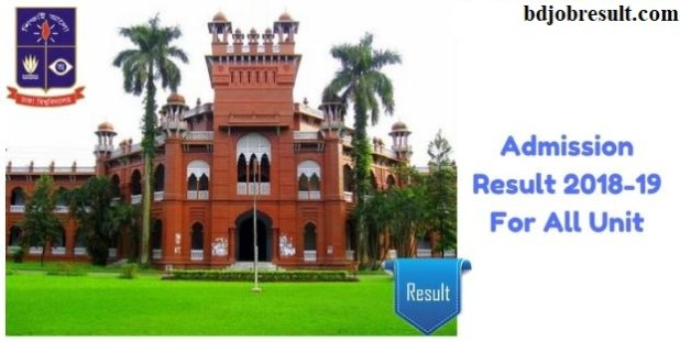 Dhaka University Admission Result