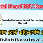 Barisal Board HSC Result 2020