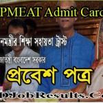 PMEAT Admit Card 2021