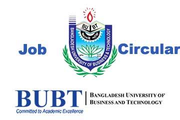 BUBT Job Circular