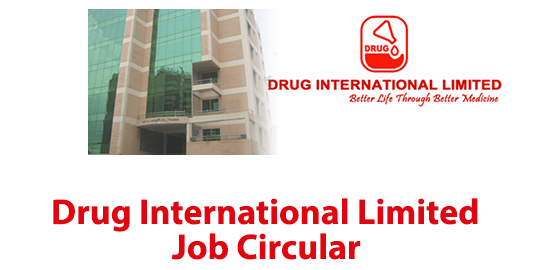 Drug International Limited Job Circular