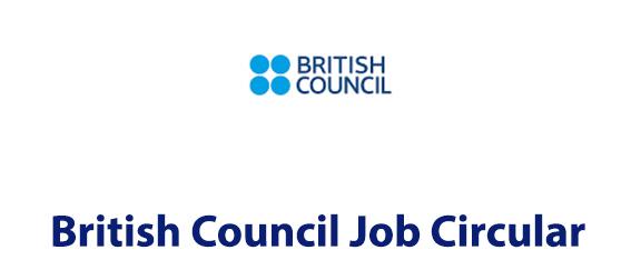 British Council Job Circular