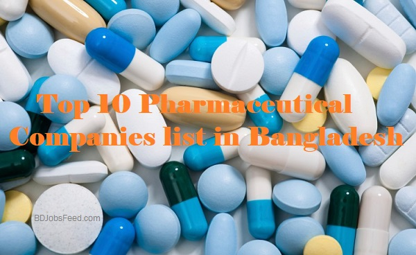 Top 10 Pharmaceutical Companies list in Bangladesh