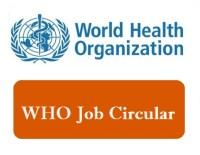 World Health Organization job circular (WHO)