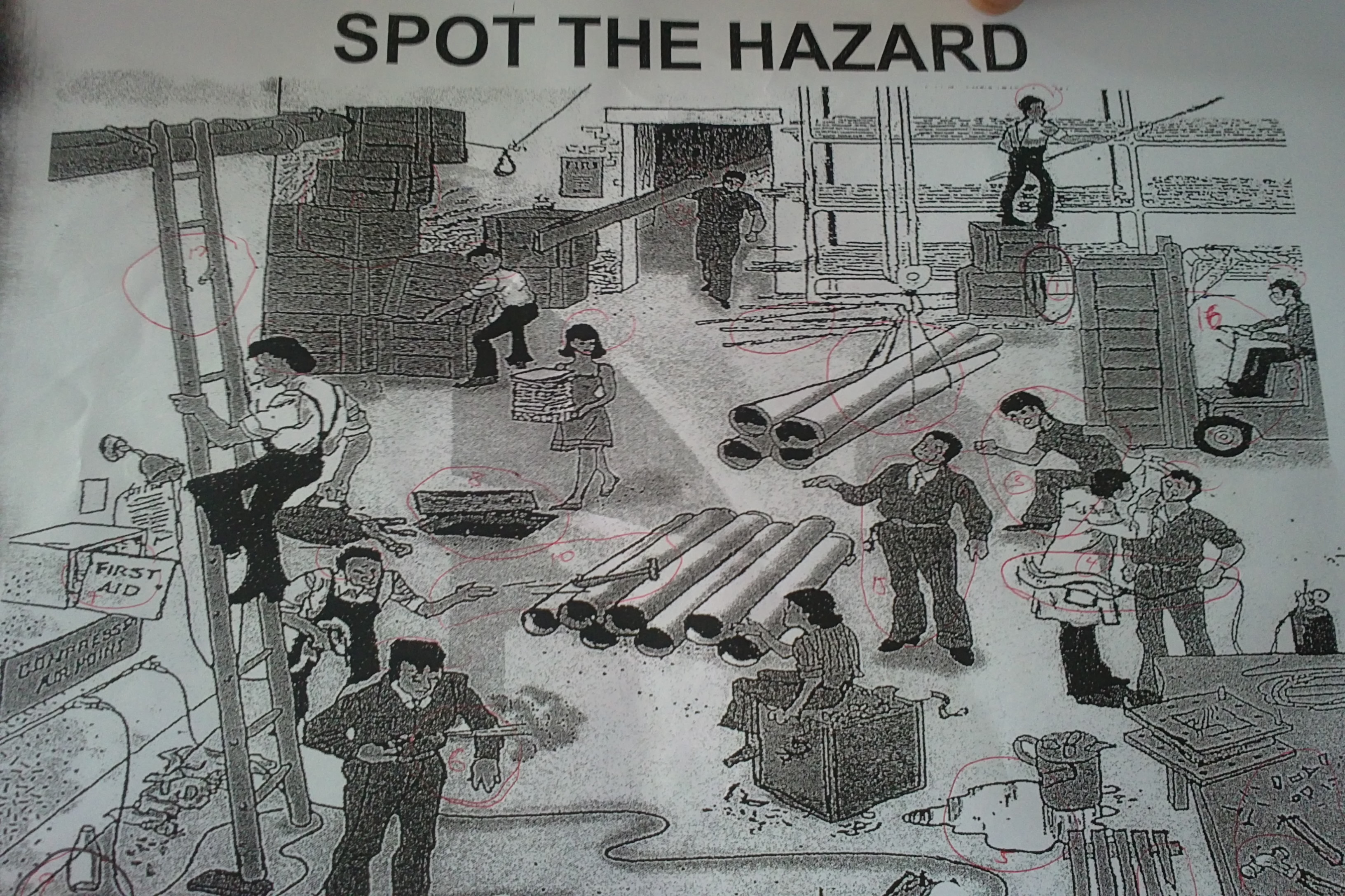 Find The Safety Hazards Pictures To Pin
