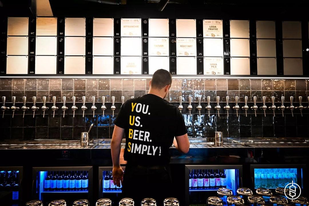 Brassin personnalisé / Zone de dégustation / BDL / Brasseries de Liège / YUBS / Bière - Beer