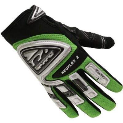 Bike It GP-Pro Neoflex-2 Motocross Gloves Green