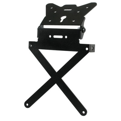 Lampa X-Plate Motorcycle Number Plate Holder Black 90144
