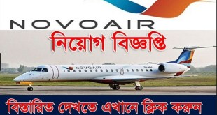 NOVOAIR Ltd Job Circular 2019