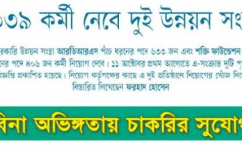 Kalerkantho Weekly Jobs Circular 2019 – Weekly Job News