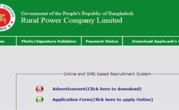 Rural Power Company Ltd RPCL Job Circular