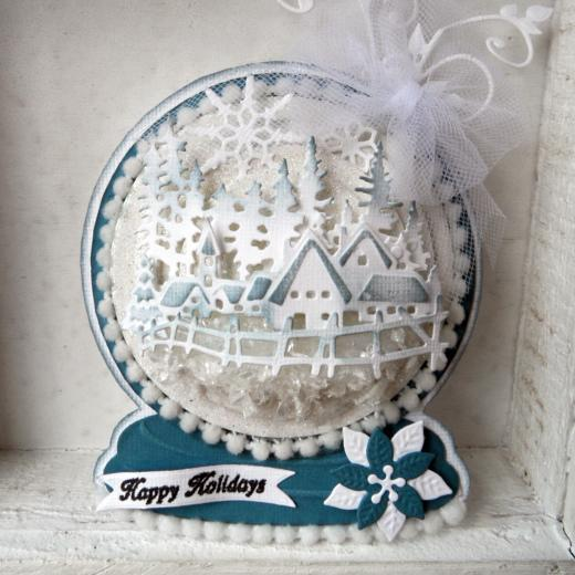 Marianne Design Collectables Cutting Dies Snow Globe