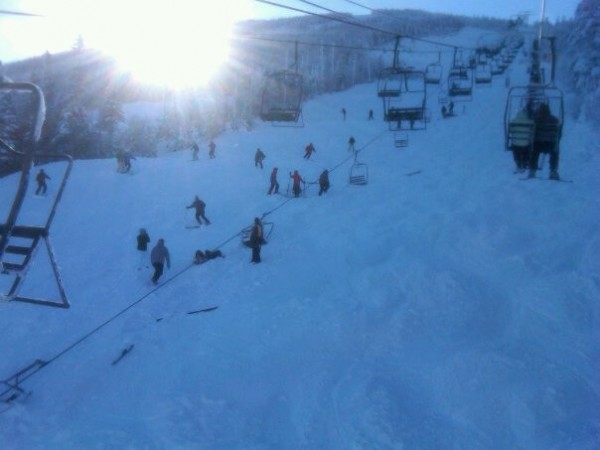 chair lift accident child rocking outdoor fails at sugarloaf sending 8 to nearby hospital news