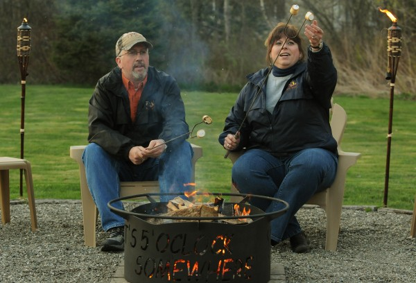 Brewer Couple Builds 'the Perfect Campfire' — Outdoors