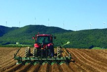 A potato field in Wicklow, New Brunswick, across the border from Mars Hill, being fumigated with chloropicrin in the fall of the 2015, as part of a trial McCain Foods is conducting with its processing potato growers on both sides of the border.