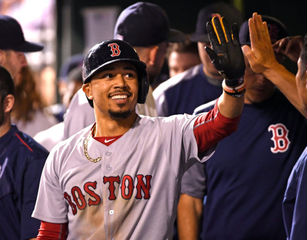 Betts Blast Red Sox By Phillies — Sports — Bangor Daily News — BDN