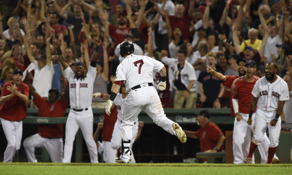 Vazquez's 3 Run HR In Ninth Rallies Red Sox Past Indians
