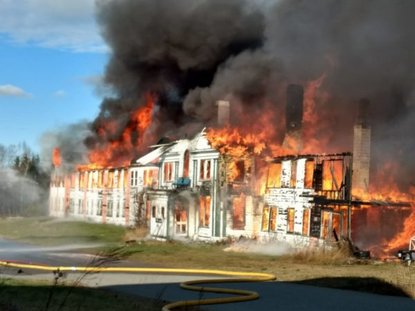 Historic Eastport fire claims Navy barracks where man was living alone  Down East  Bangor