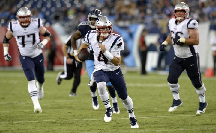 patriots rookie quarterback strong