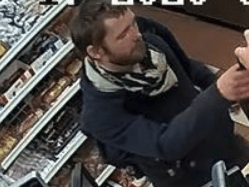 The Maine State Fire Marshal's office is seeking to identify this man who is suspected of setting fire to a diesel pump at an Augusta convenience store.