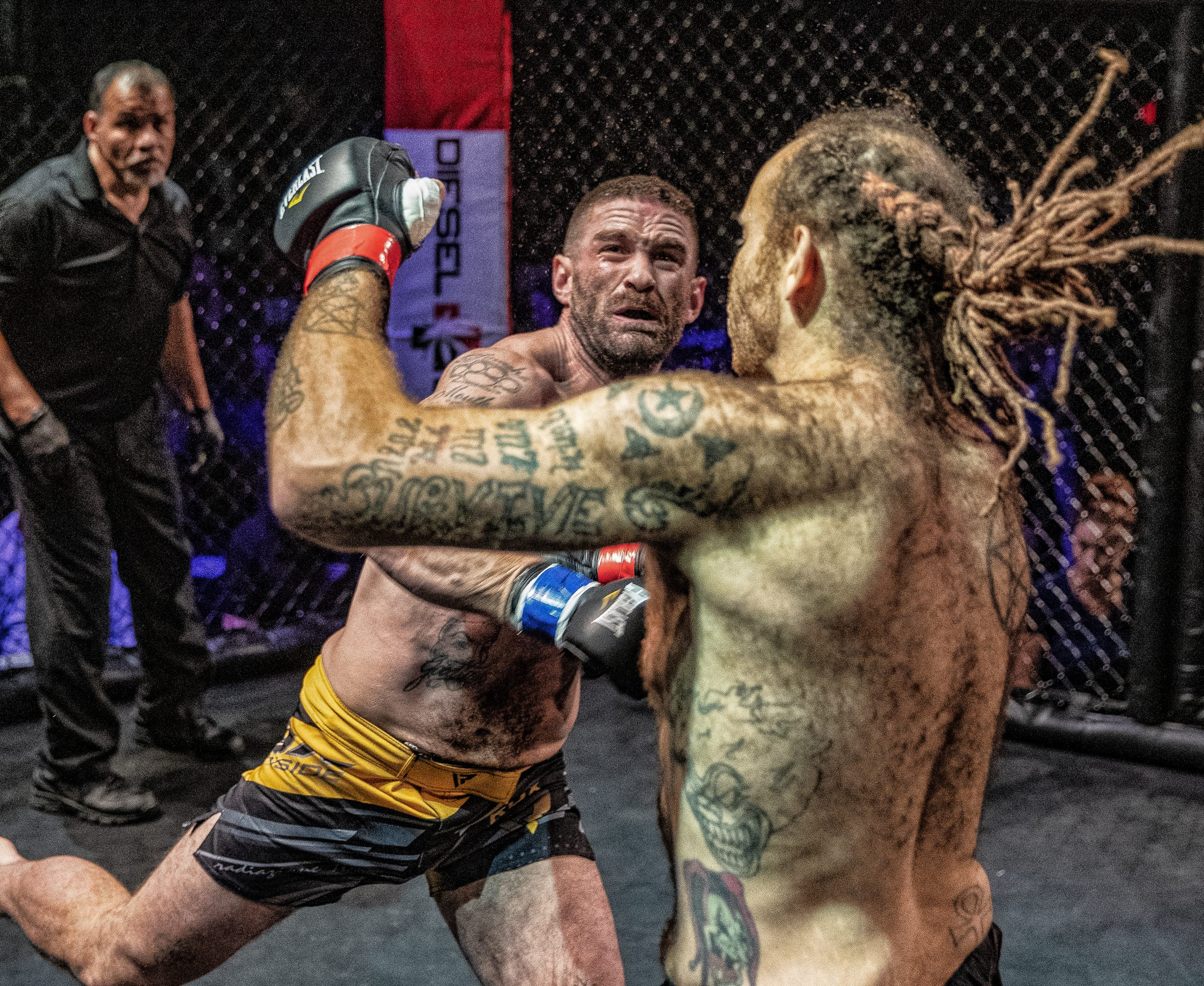 Ellsworths Sarro suffers first bare-knuckle fighting loss