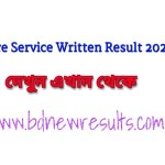 Fire service written exam result 2020