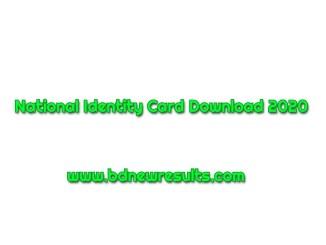 nid card 2020