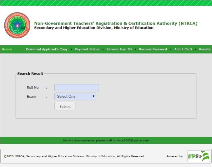 16th-NTRCA-Result-Download