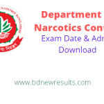 dnc exam date admit card download