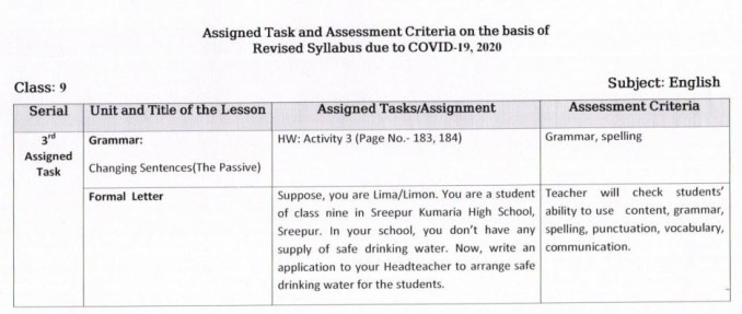 5th Week Assignment Answer Class