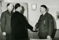 Netaji Suvash Chandra Basu with Hitler