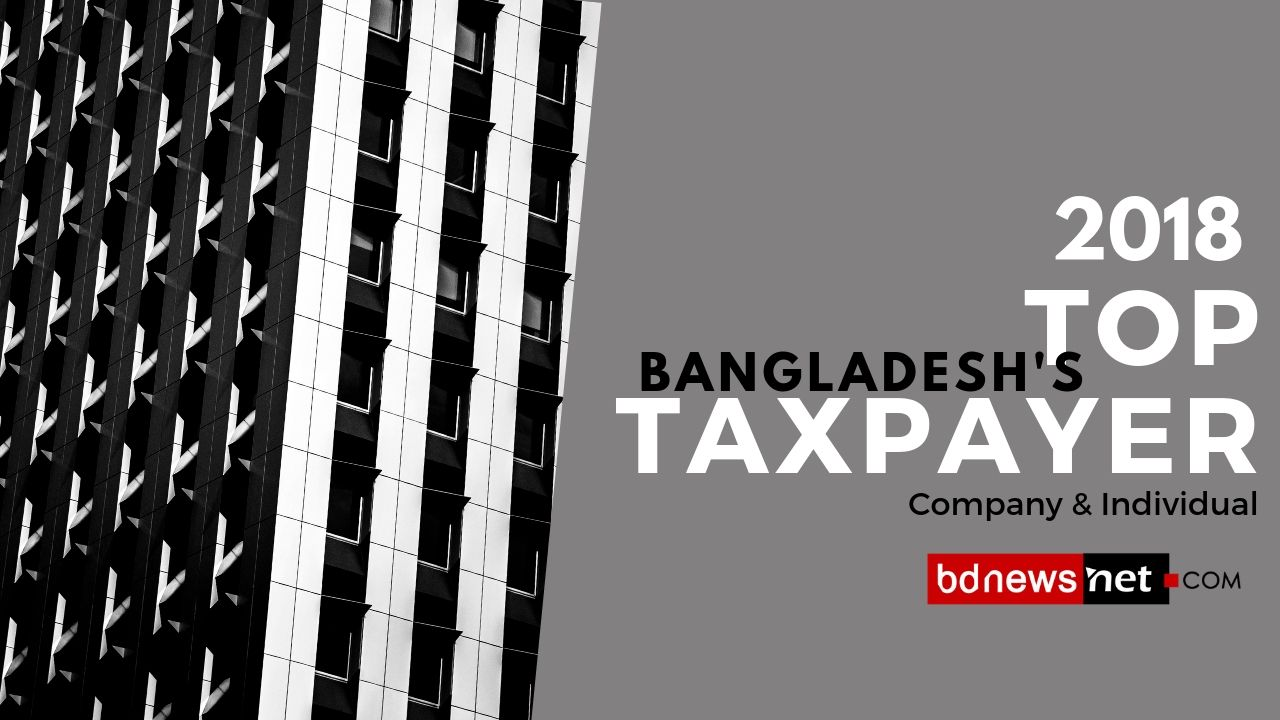 Bangladesh Highest Taxpayer in 2018 : Company & Individual