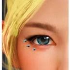Drop Eye Ornament