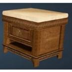 Fleece Bedside Table