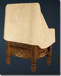 Fleece Chair Back