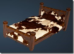 Leather Bed Front